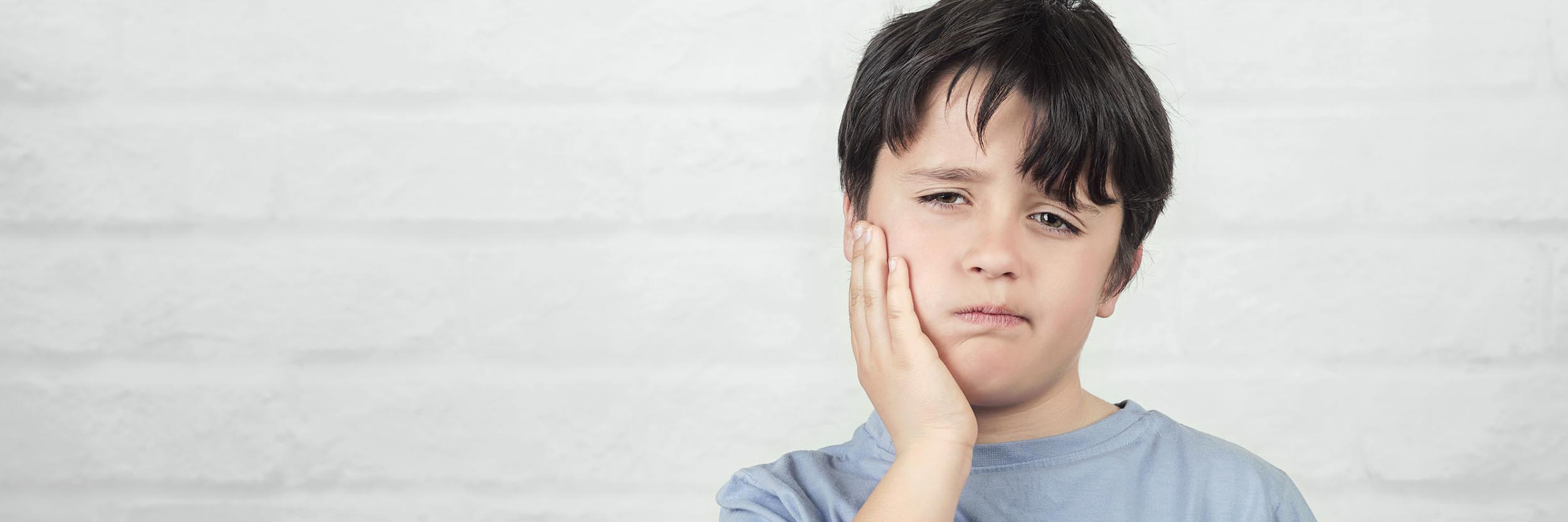 Boy with Dental Pain