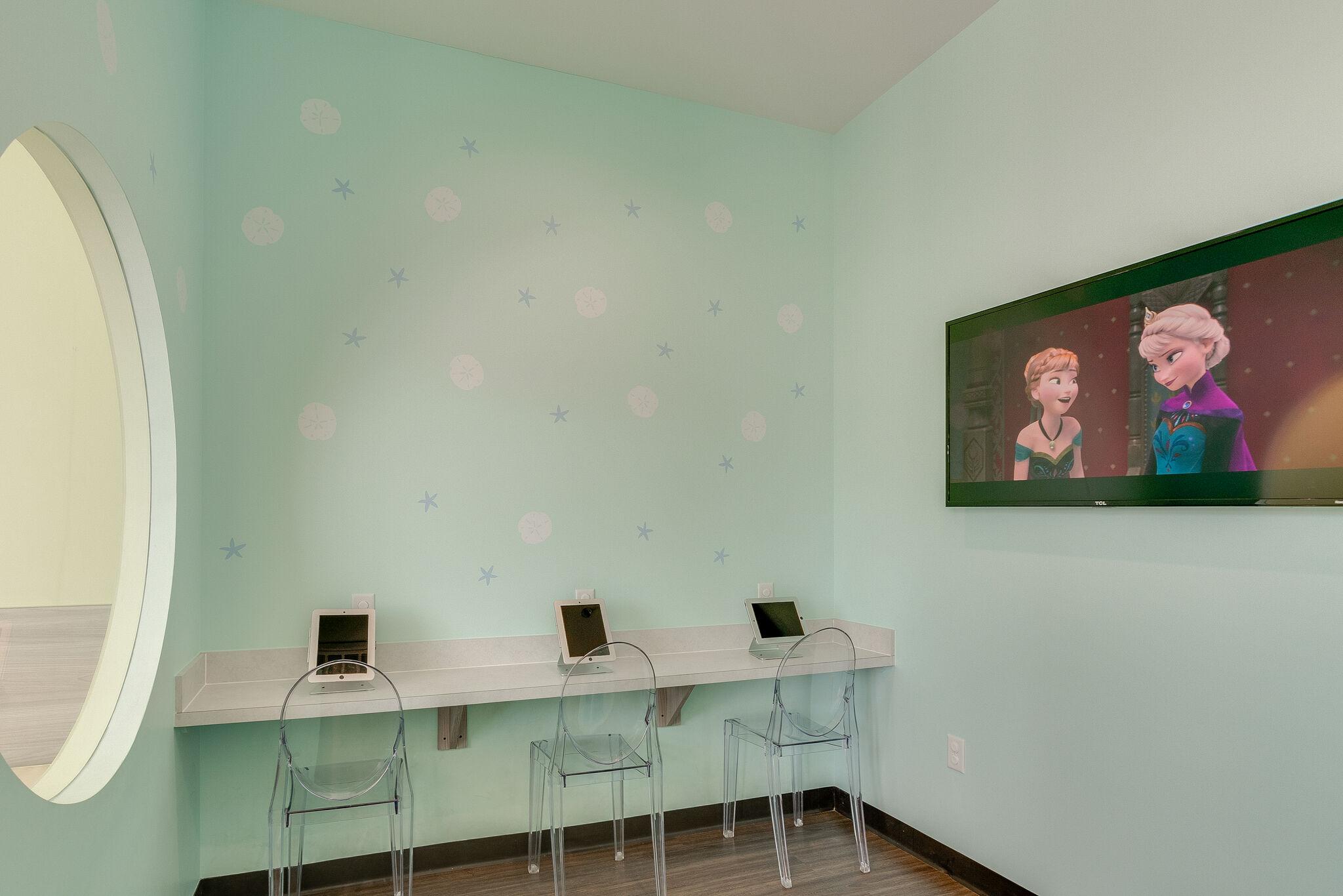 Kid's Area of Hurst Pediatric Dentistry Office
