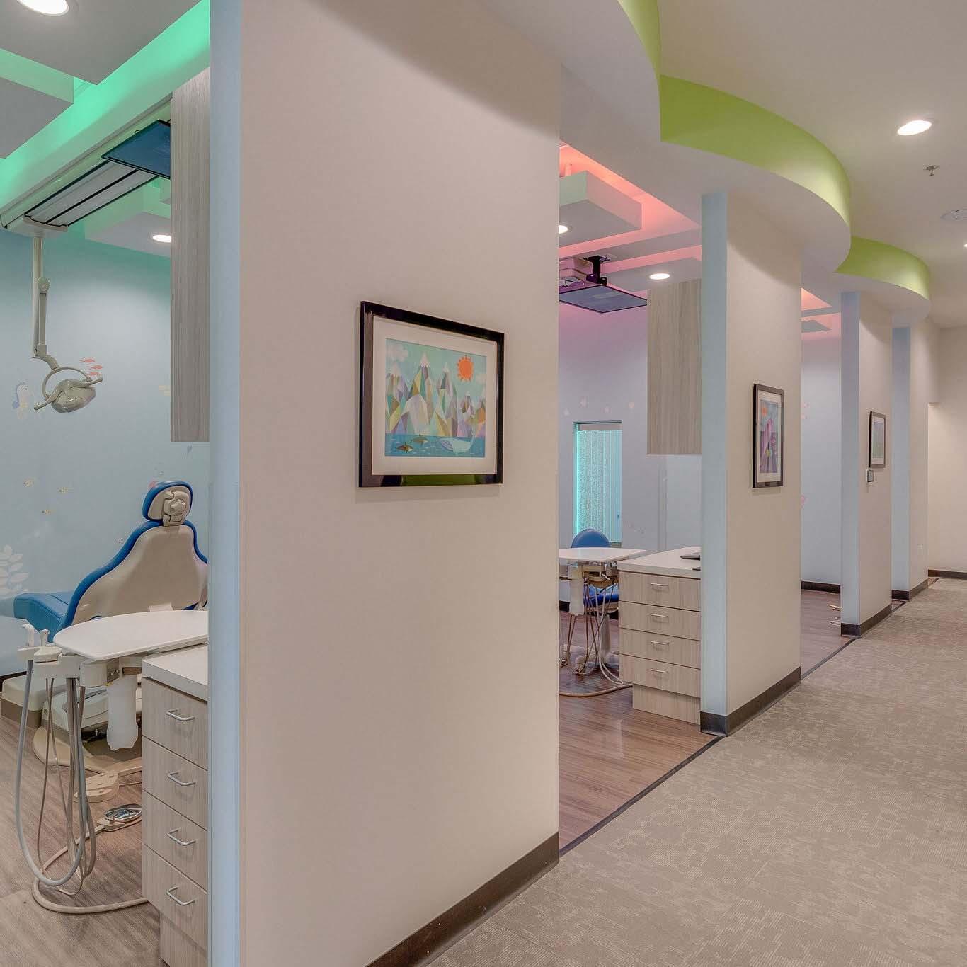 Exam Rooms At Hurst Pediatric Dentistry Office